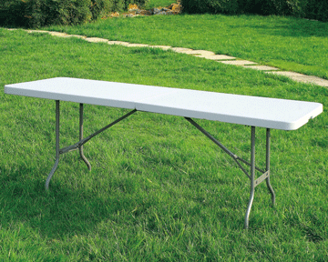 Plastic Folding Table by Event Tents